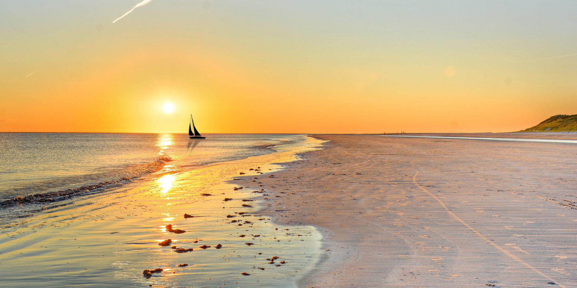 Sonnenuntergang am Usedomer Strand